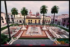 Alfombra plaza del Ayuntamiento 2005
