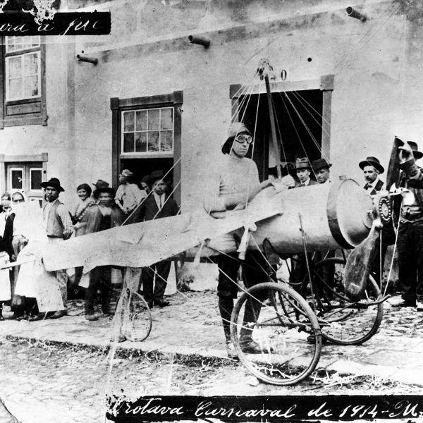 Donaciones - avioneta carnaval 1914