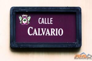 Placa Calle Calvario