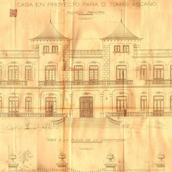 Plano de fachada